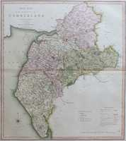 A New Map Of The County of Cumberland
