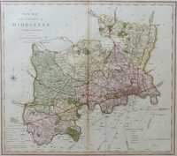A New Map Of the County of Middlesex