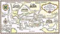 A Plan Of The Town of Plymouth in Devonshire