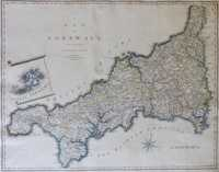 A Map Of Cornwall From The Best Authorities