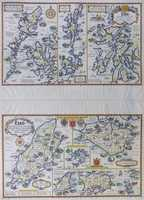 Esso Pictorial Plan Of The Principal Islands Of Southern Britain [ along with Northern Britain]