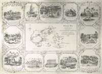 Illustrated Map of Feejee Presented by the Missionary Committee