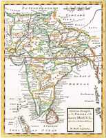 India Proper Or The Empire Of The Great Mogul ...
