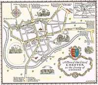 A Plan Of The City of Chester in the County of Cheshire