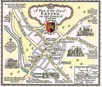 A Plan Of The City Of Exeter in the County of Devon