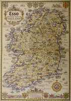 Esso Pictorial Plan Of Ireland