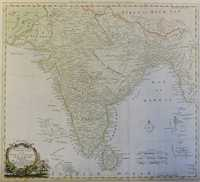 New Map Of Indostan Or East Indies Agreable To The Latest Authorities