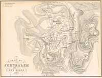 Plan of Jerusalem and its Environs