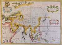 A New Map Of Ancient Asia Dedicated to His Highness William Duke of Gloucester