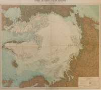 Chart Of North Polar Regions.