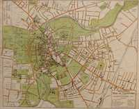 Spalding's Map Of Cambridge