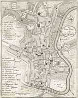A New Plan Of The City Of Bath