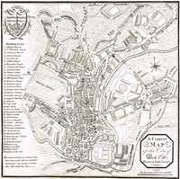 A Correct Map Of The City Of Bath