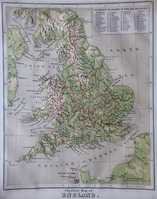 Physical Map Of England / Political Map Of England