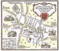 A Plan Of The City of Winchester in the County of Hampshire