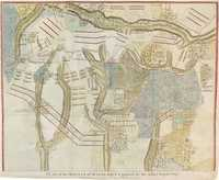 Plan Of The Battle Of Malplaquet ...1709