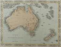 New Zealand and The Australian Colonies of Great Britain