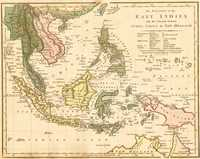 The Islands Of The East Indies With The Channels Between India, China & New Holland