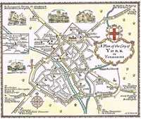 A Plan Of The City of York in Yorkshire