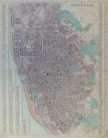 Plan Of Liverpool