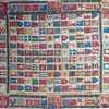 untitled - Maritime flags of the world on cotton kerchief