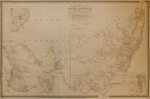 Map Of South Australia, New South Wales, Van Diemen's Land