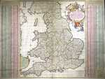 A New Map Of The Kingdome Of England And Wales ...