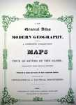 [Title-Page] A New General Atlas Of Modern Geography ...