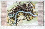 ... The City And Environs Of London, As Fortified .. 1642 & 1643