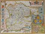 Essex Devided Into Hundreds With ... Colchester ...