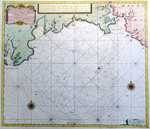 A New ..Compass Map Of .. Cornwall .. From Big Berry To Falmouth [repeated in Dutch]
