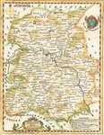 Shropshire  Drawn From The Best Authorities And Regulated By Astron. Observations