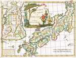 Carte Du Japon Et De La Coree