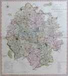 A New Map Of the County of Hereford