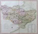 A New Map Of the County of Kent