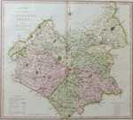 A New Map Of the County Leicester