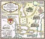 A Plan Of The Town of Southampton in Hampshire