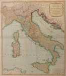 A New Map of Italy, with the Islands of Sicily, Sardinia & Corsica.
