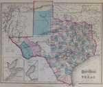 Gray's Atlas Map Of Texas