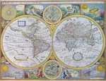 A New And Accurat Map Of The World / Europ / Africae / America / Asia